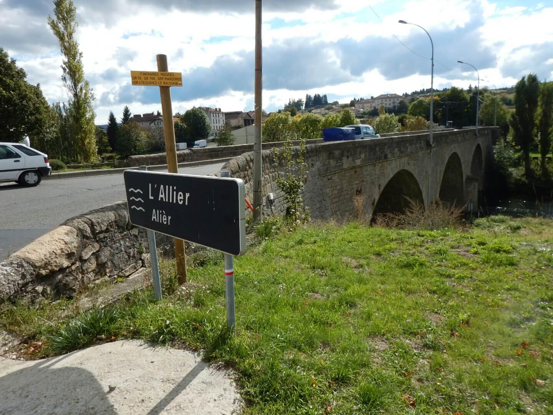 A l'entrée de Langogne