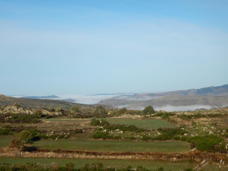 Mer de nuages dans les vallées