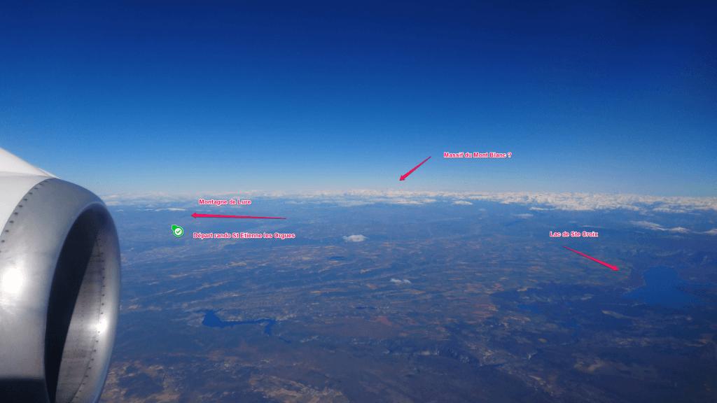 Rando Montagne de Lure depuis les airs