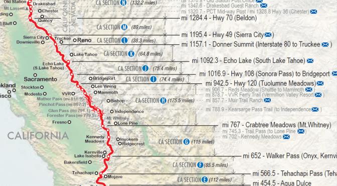 Aperçu du PCT – La Sierra Nevada