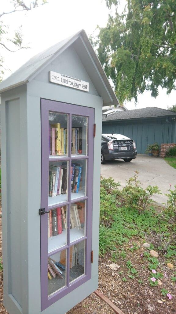 Une bibliothèque en plein air