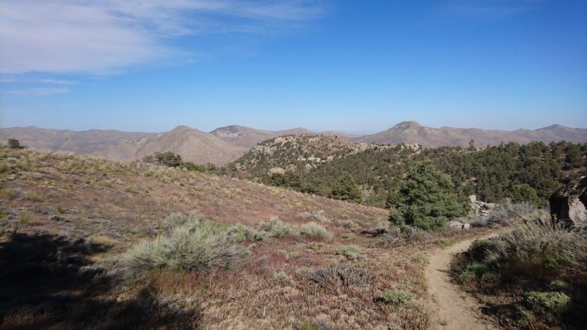 PCT jour 39 – 19 mai – mile 616