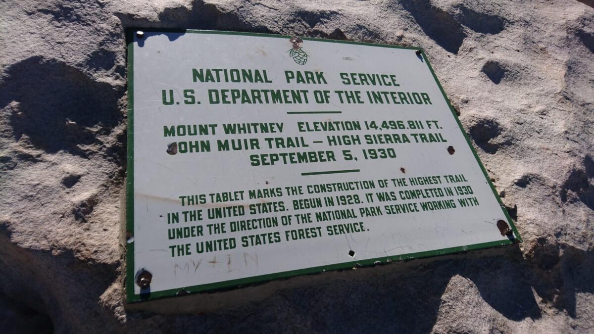 PCT jour 51 – 31 mai – mile 766 (Mont Whitney)