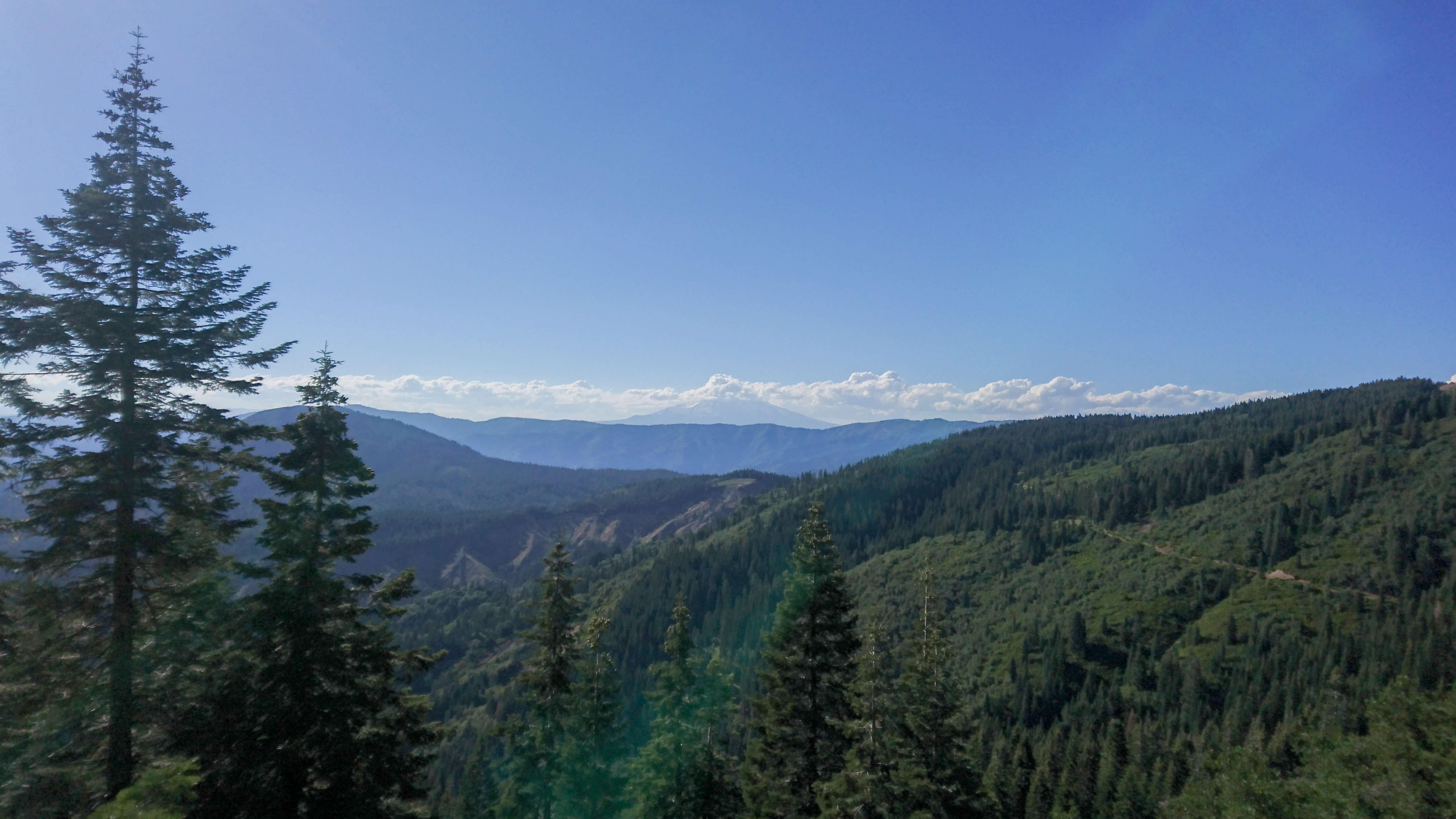 En approche du Mont Shasta
