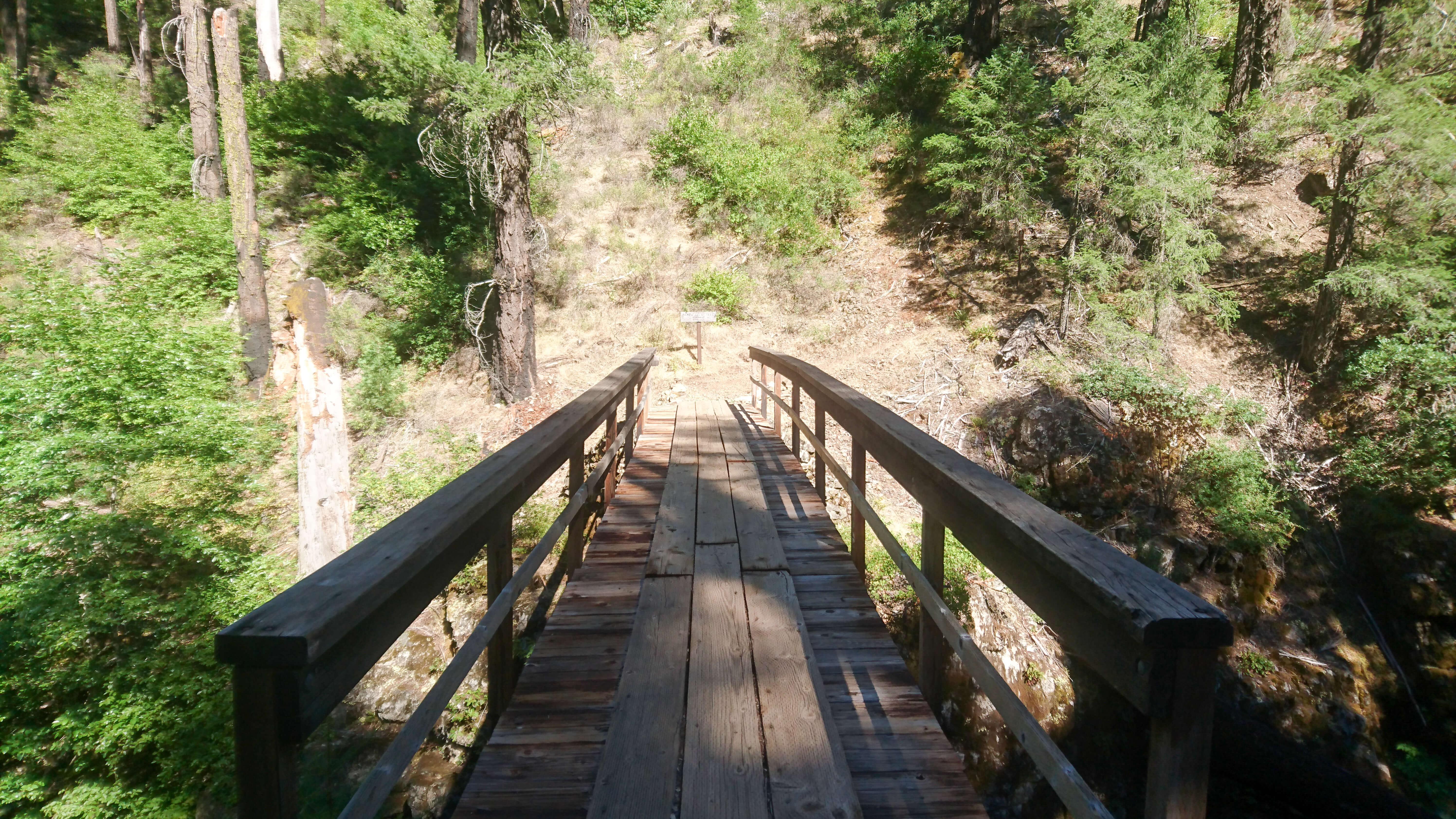 Le pont sur la Squaw River