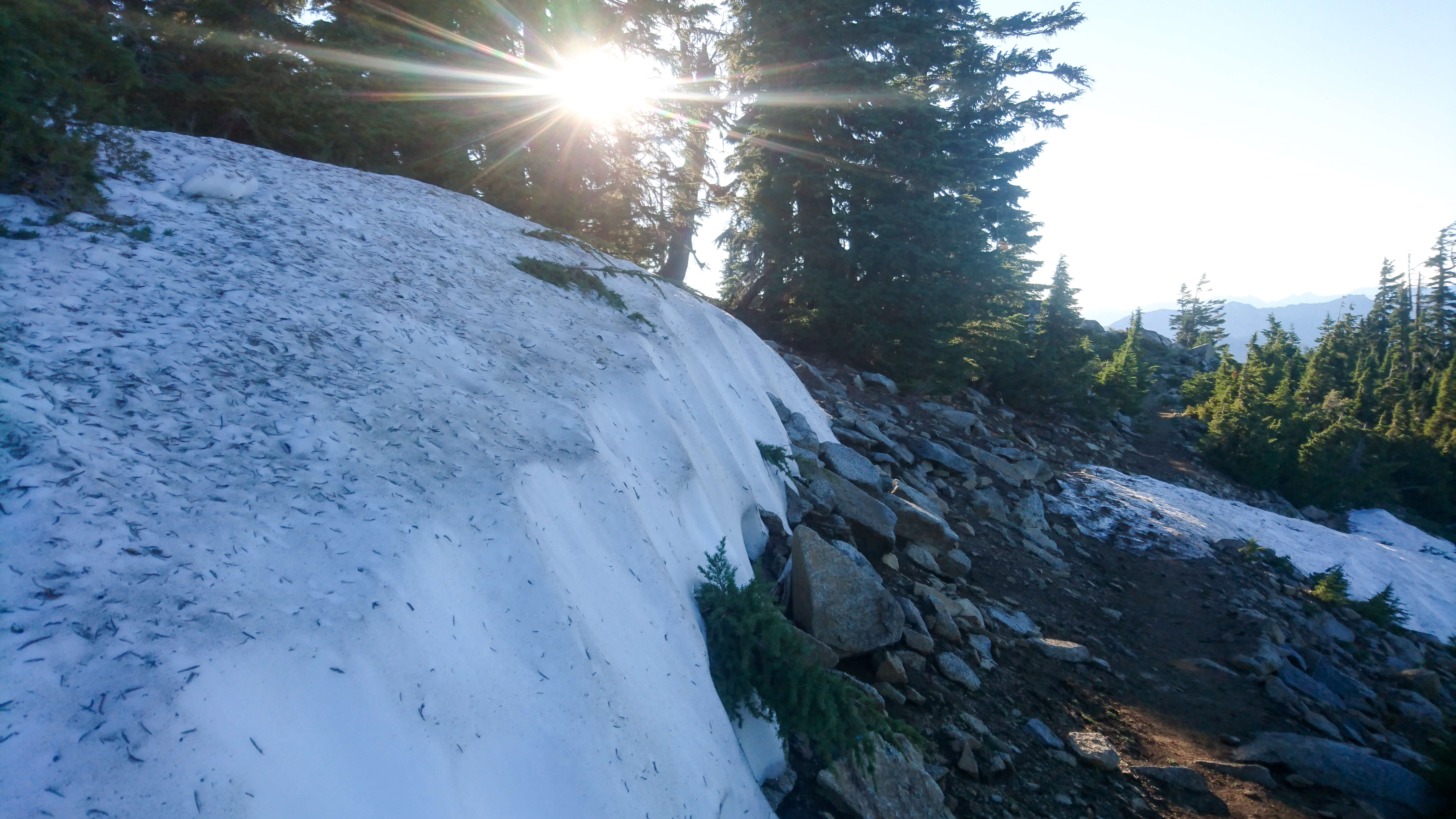 Approche d'Etna Summit