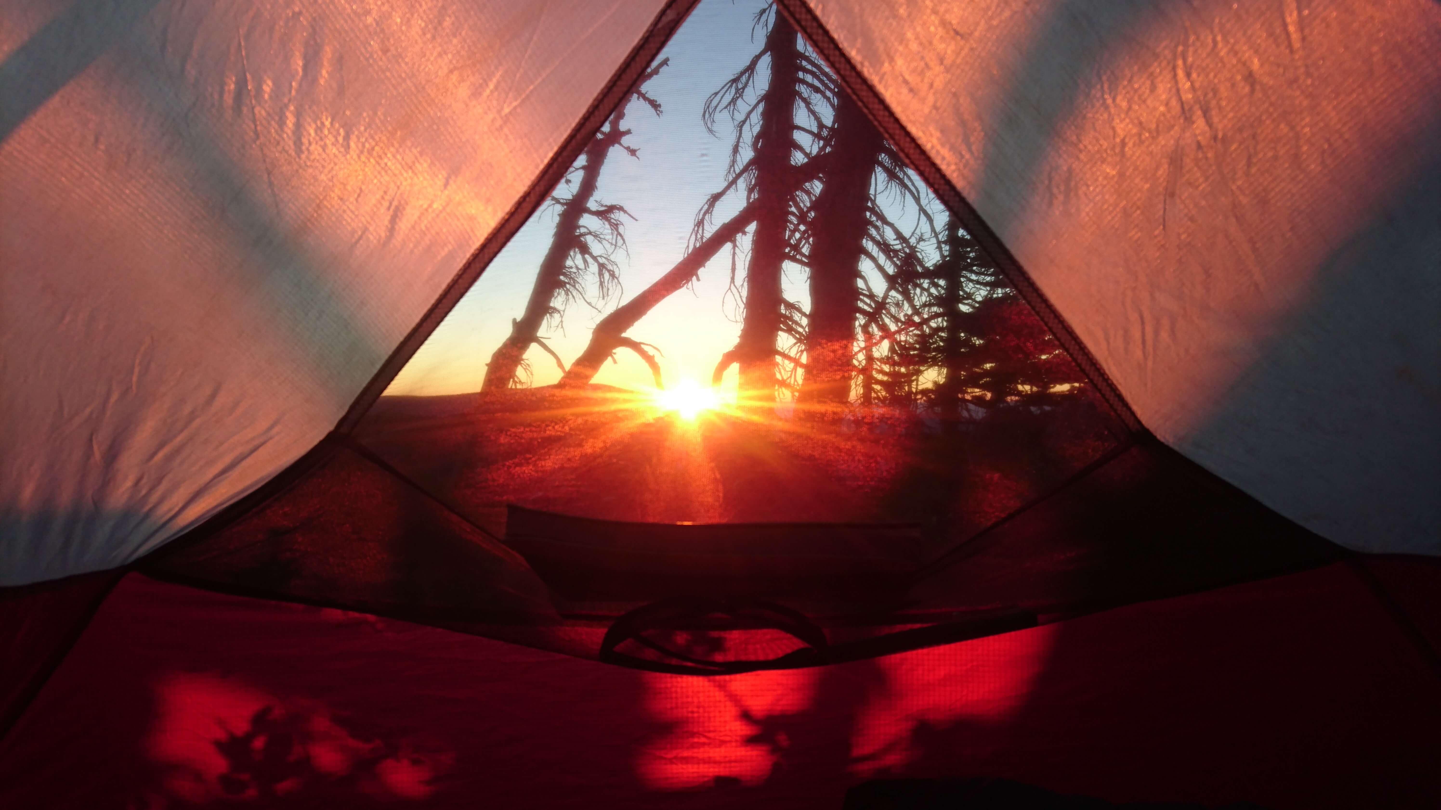 Rêve ou réel lever de soleil ?