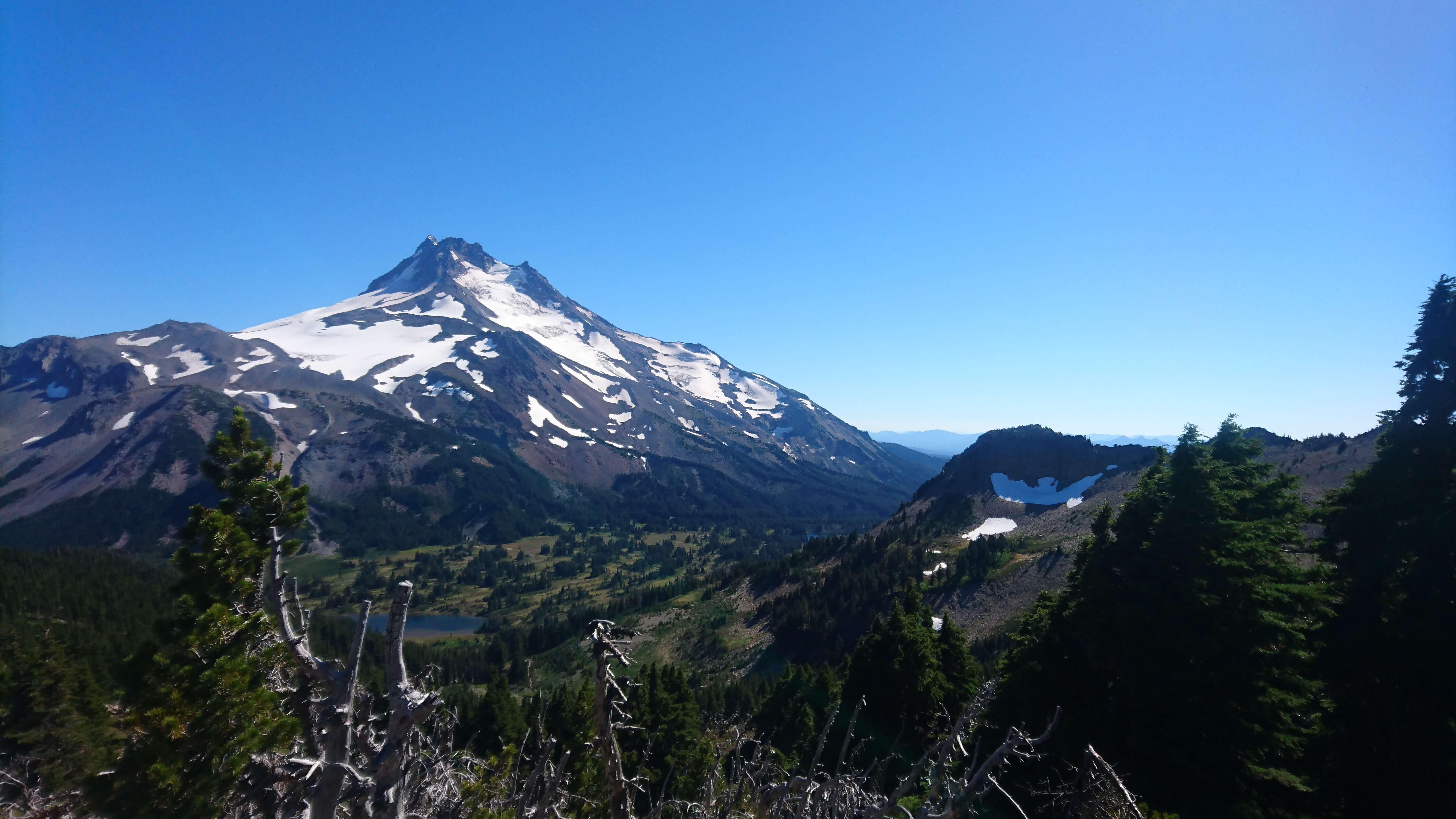 Et voici le mont Jefferson franchi !