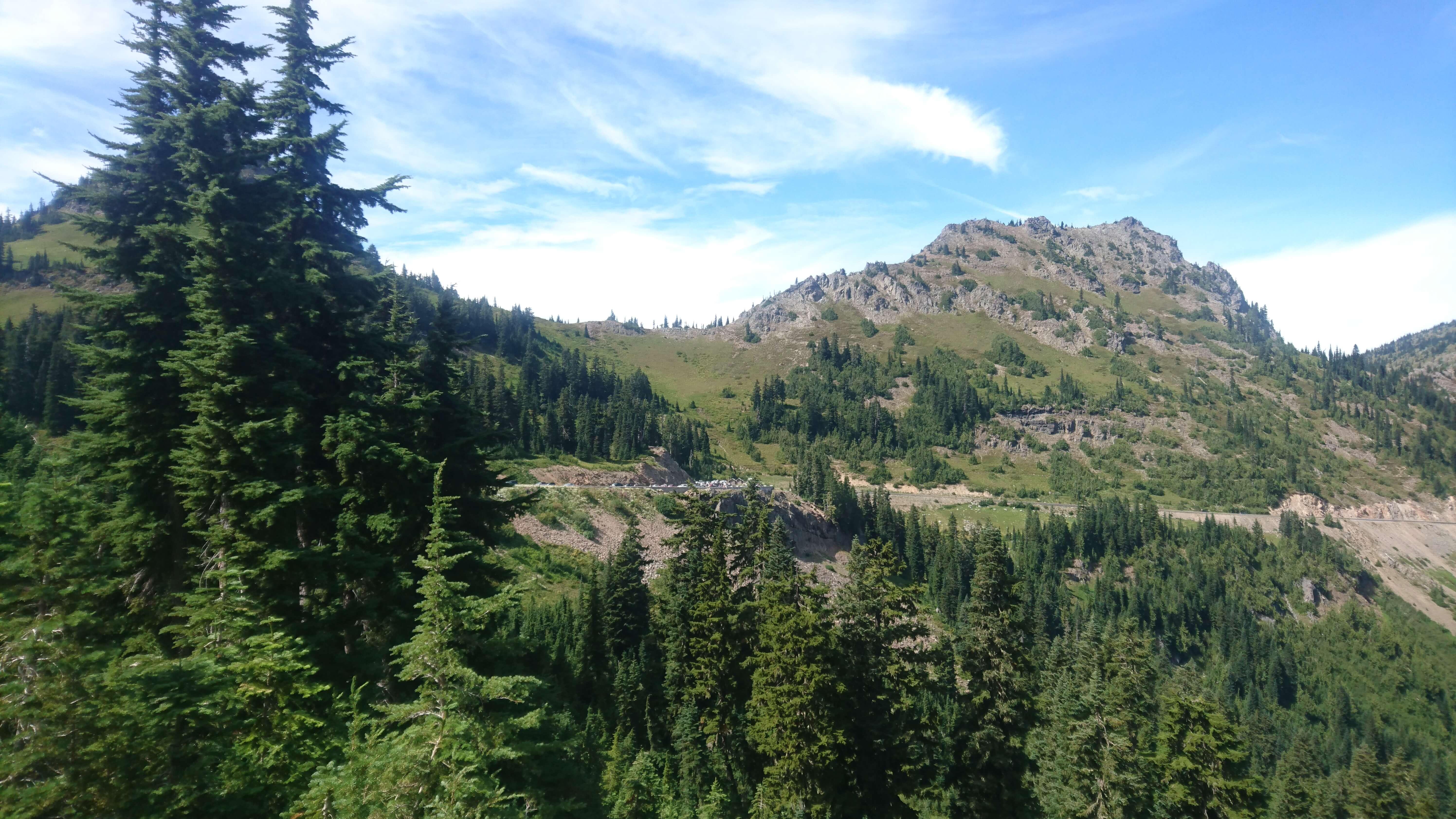 Approche de Chinook Pass
