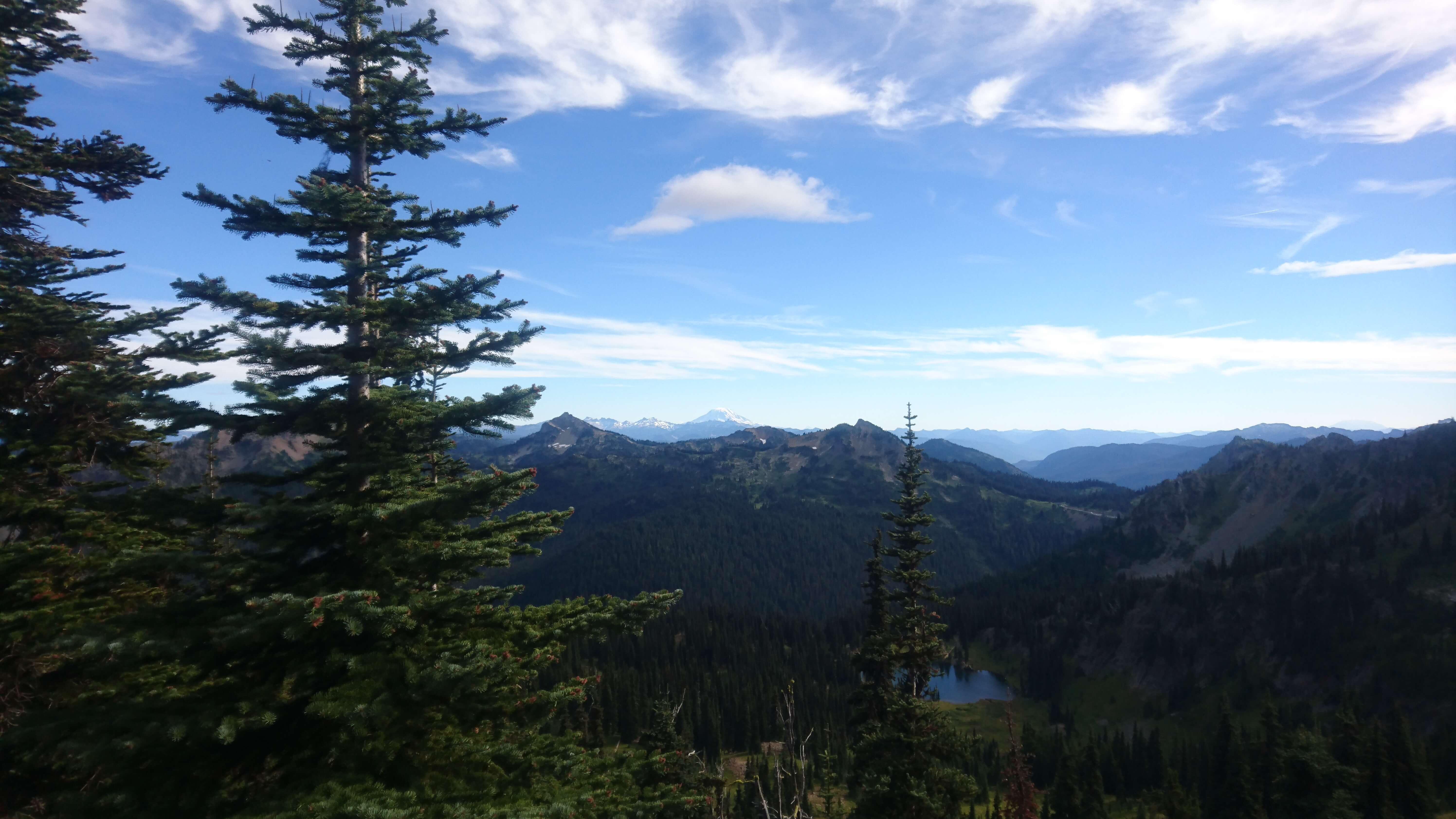 Le Mount Hood et le Mount Adams