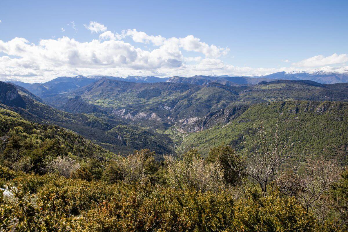 Randonnée d'Aiglun au col de Bleine en deux jours