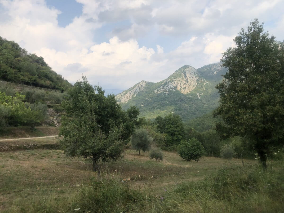 GR52 – Jour 4 – 24 août – Col sur Menton